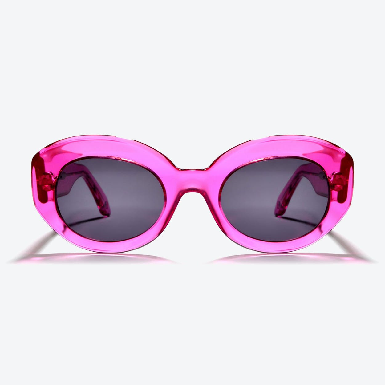 Ophelia Sunglasses in Hot Pink