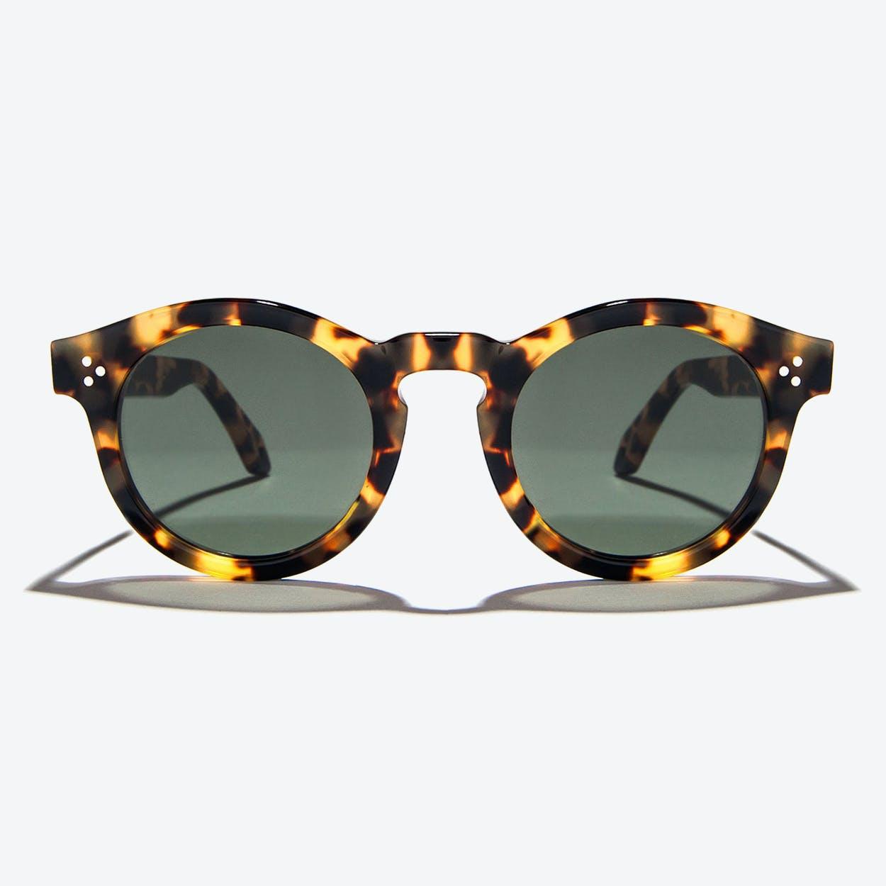 Orpheus Sunglasses in Amber