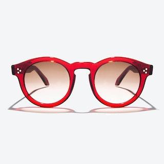 Orpheus Sunglasses in Red
