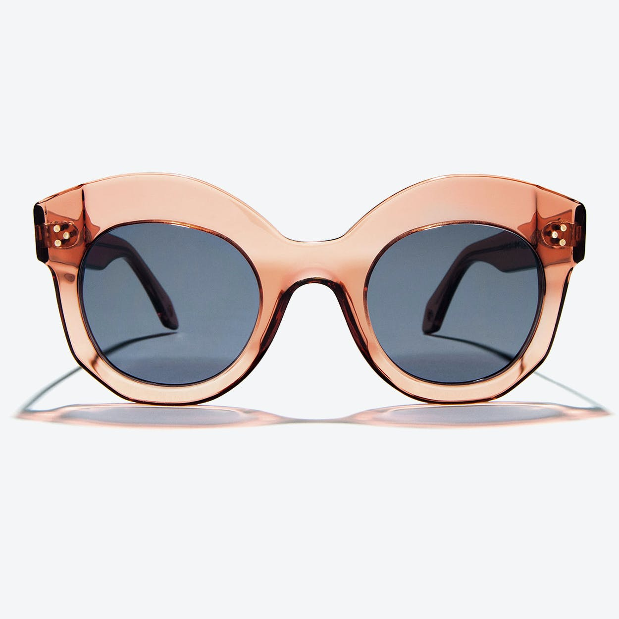 Siren Sunglasses in Champagne