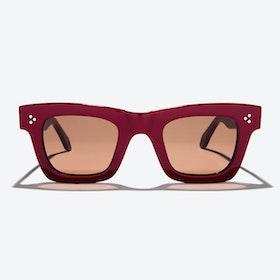 Volans Sunglasses in Burgundy