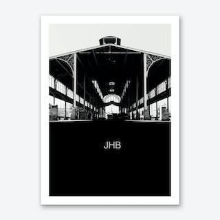 Old Park Station - Johannesburg Art Print