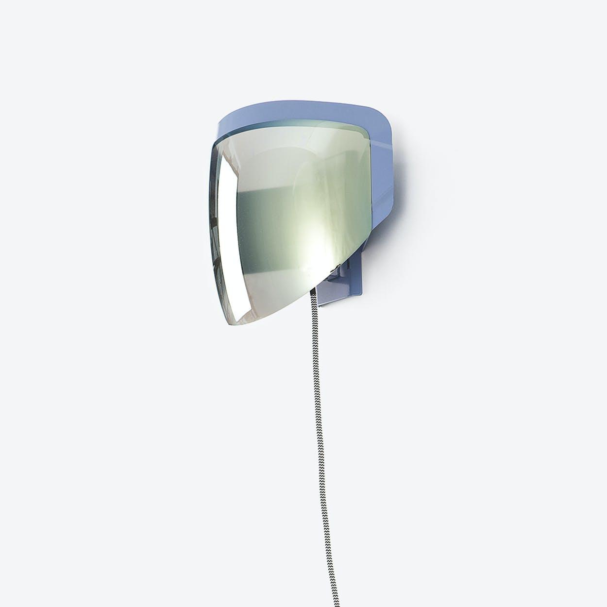 Moto - Wall Lamp with Plug - Optical Grey
