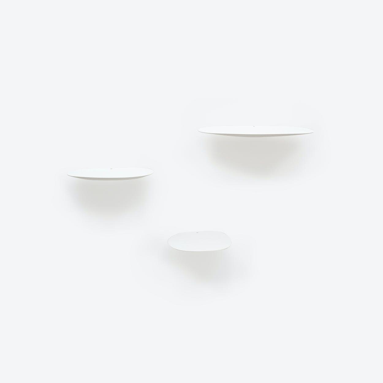 Isola Shelf Set of 3 - White