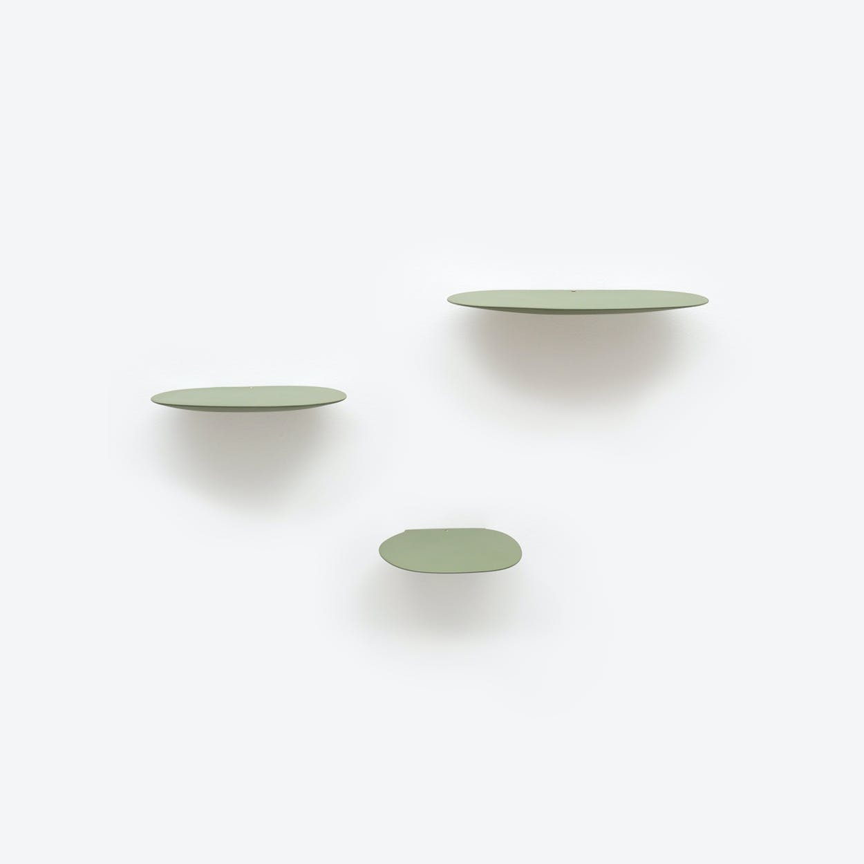 Isola Shelf Set of 3 - Olive