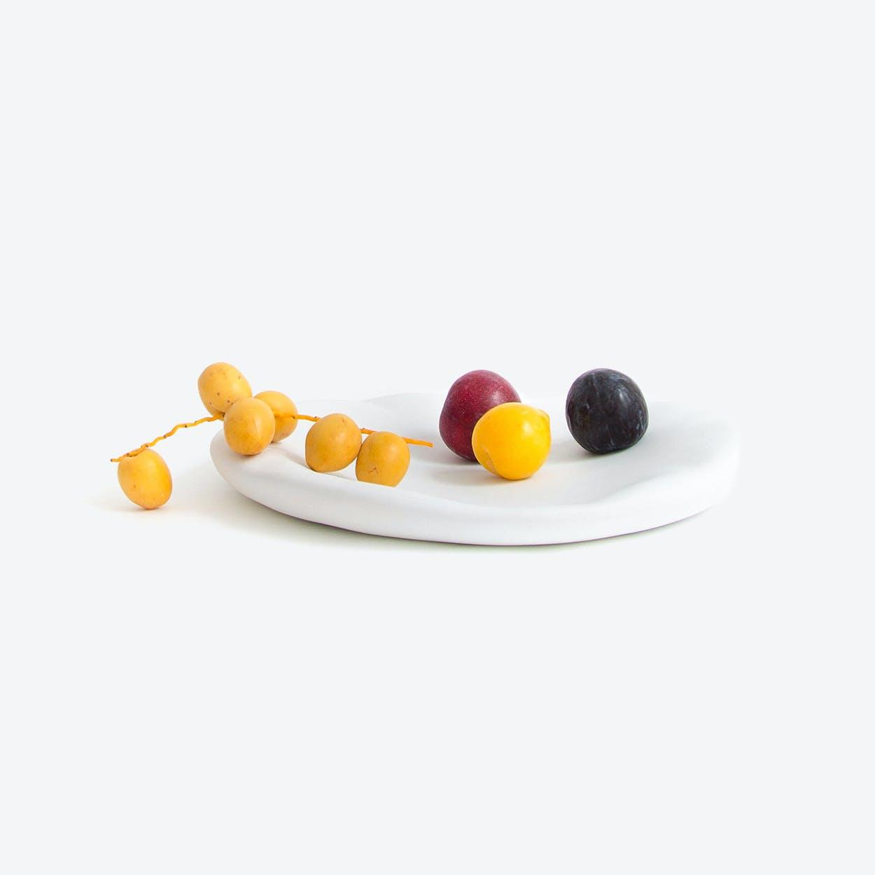 Canova - Ceramic Table Centre - Ceramic Table Centre - White