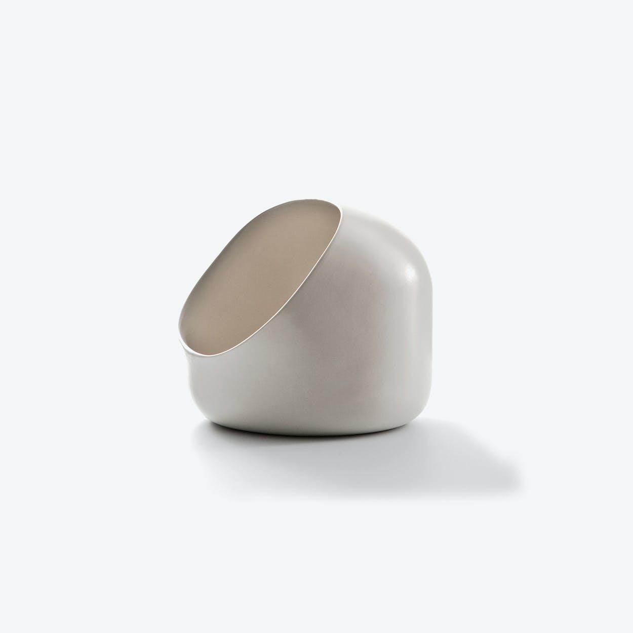 Ô Fruit Bowl in White