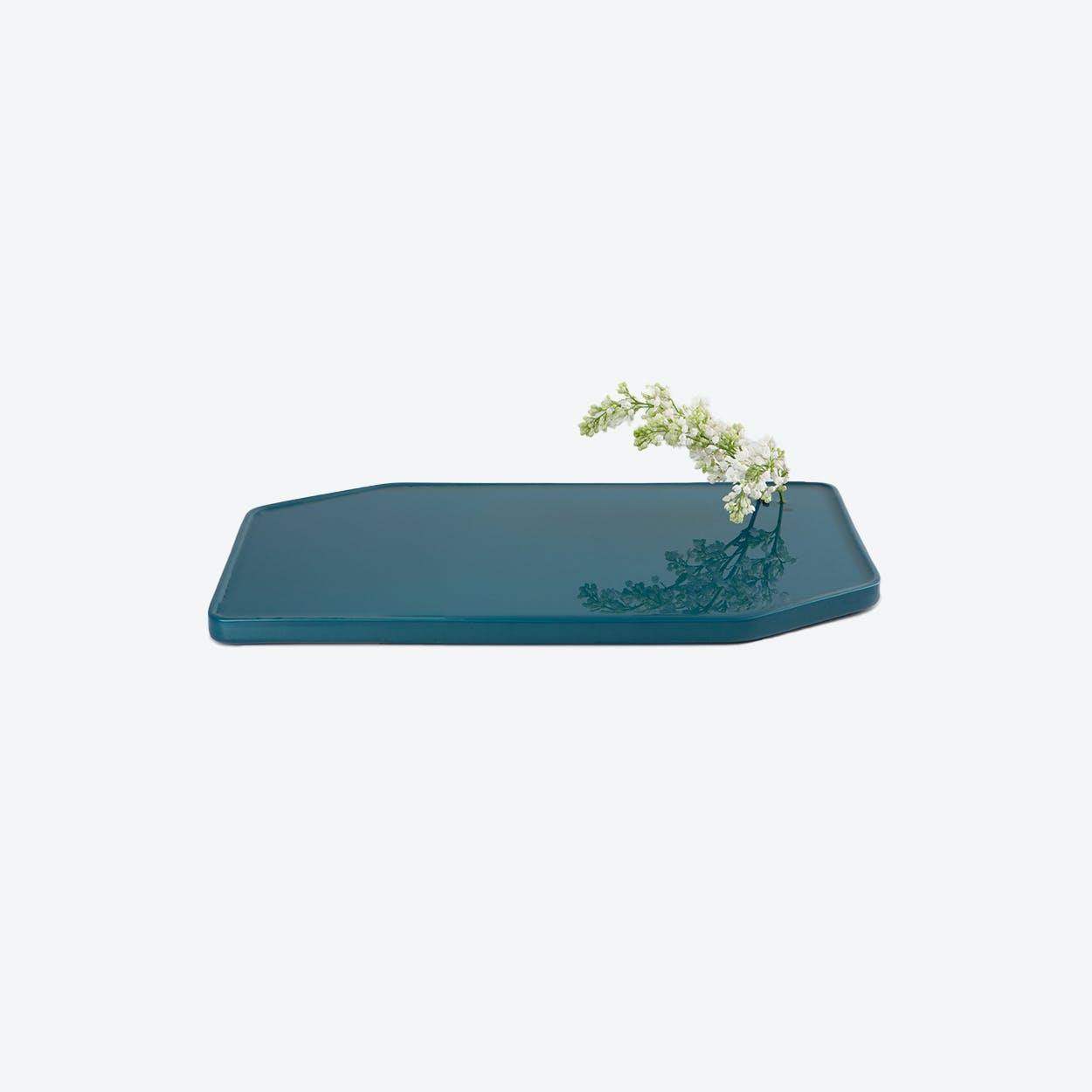 Plan Vase- Turquoise