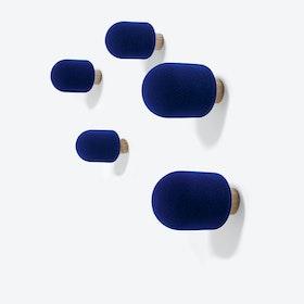 Micro Coat Hooks - Blue