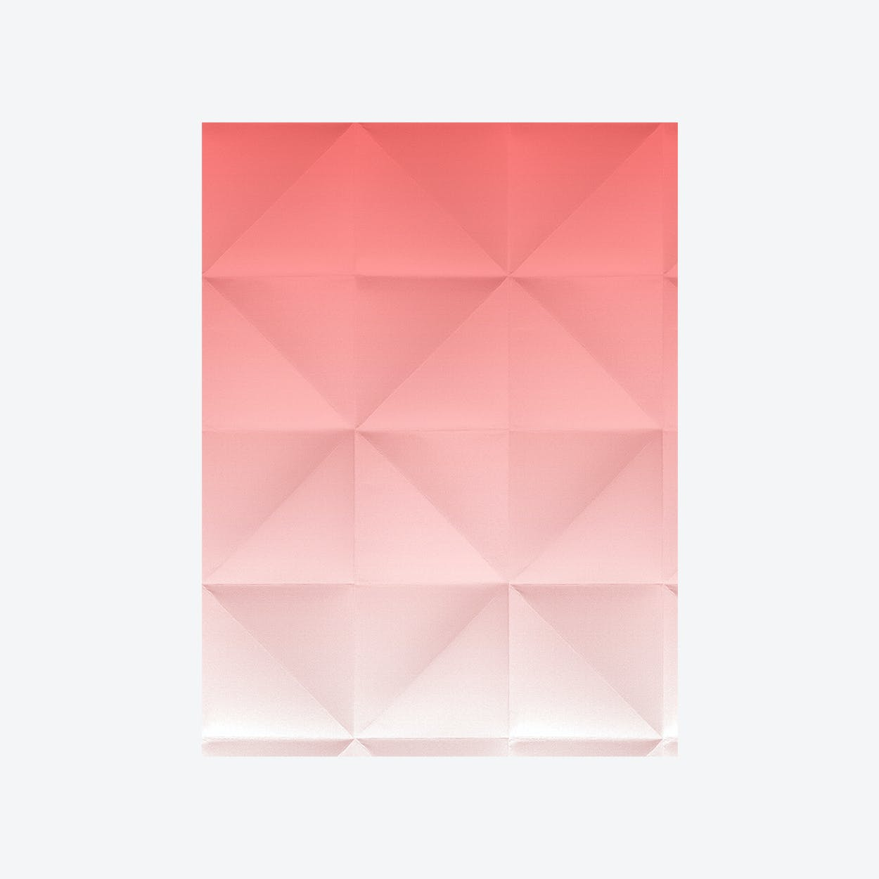 Floating - Wallpaper - Gradient Red