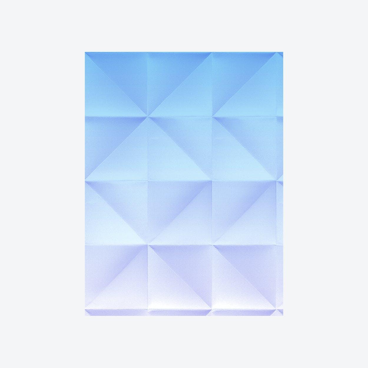 Floating - Wallpapper - Gradient Blue