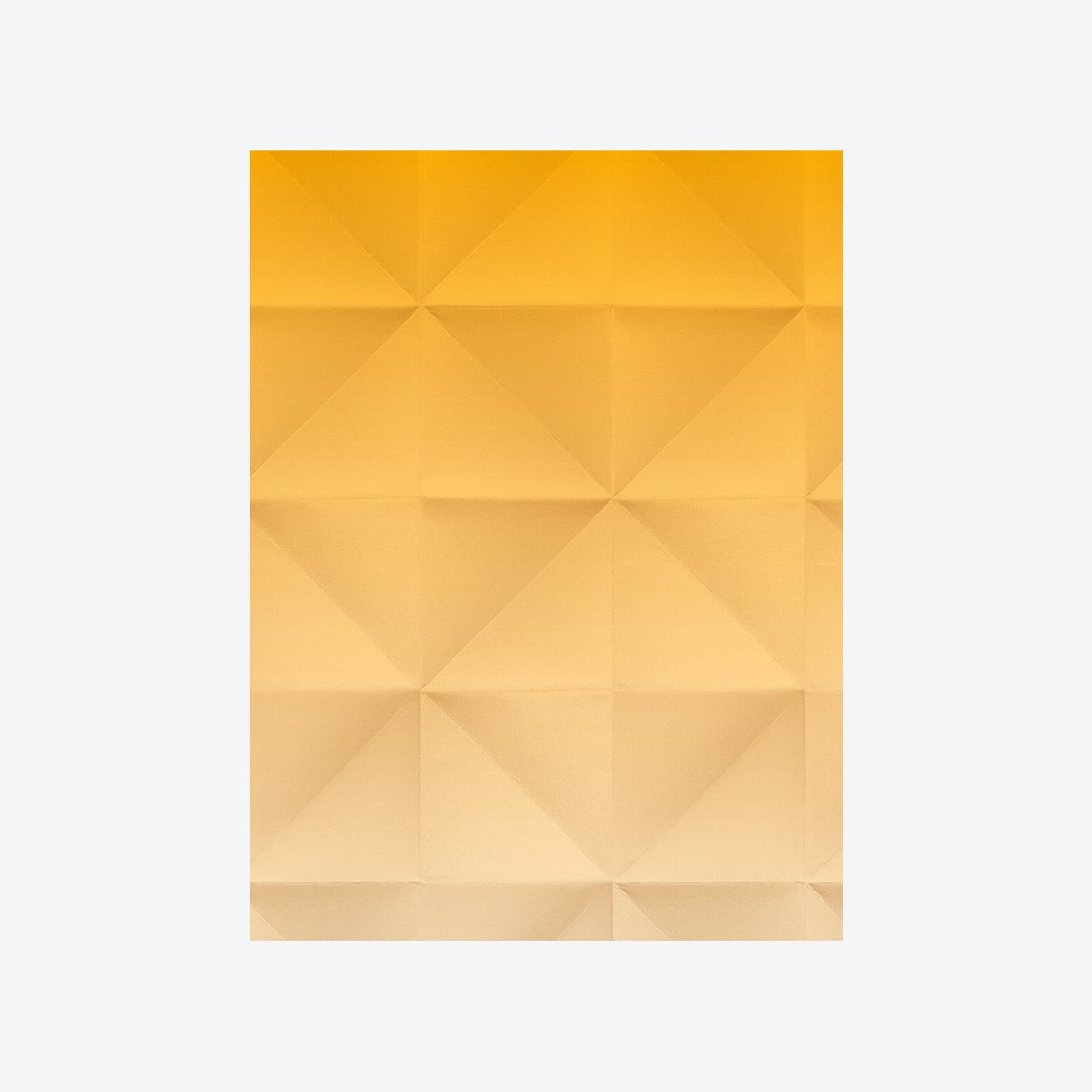 Floating - Wallpaper - Gradient Gold