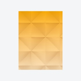 Floating - Wallpaper - Gradient Gold