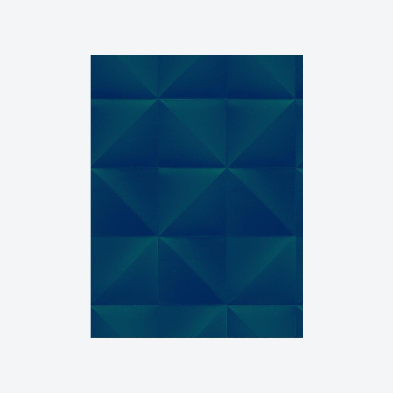 Floating - Wallpaper - Dark Green