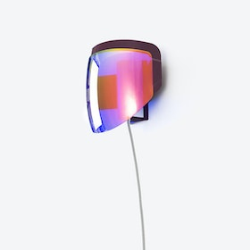 Moto - Wall Lamp with Plug - Optical Purple