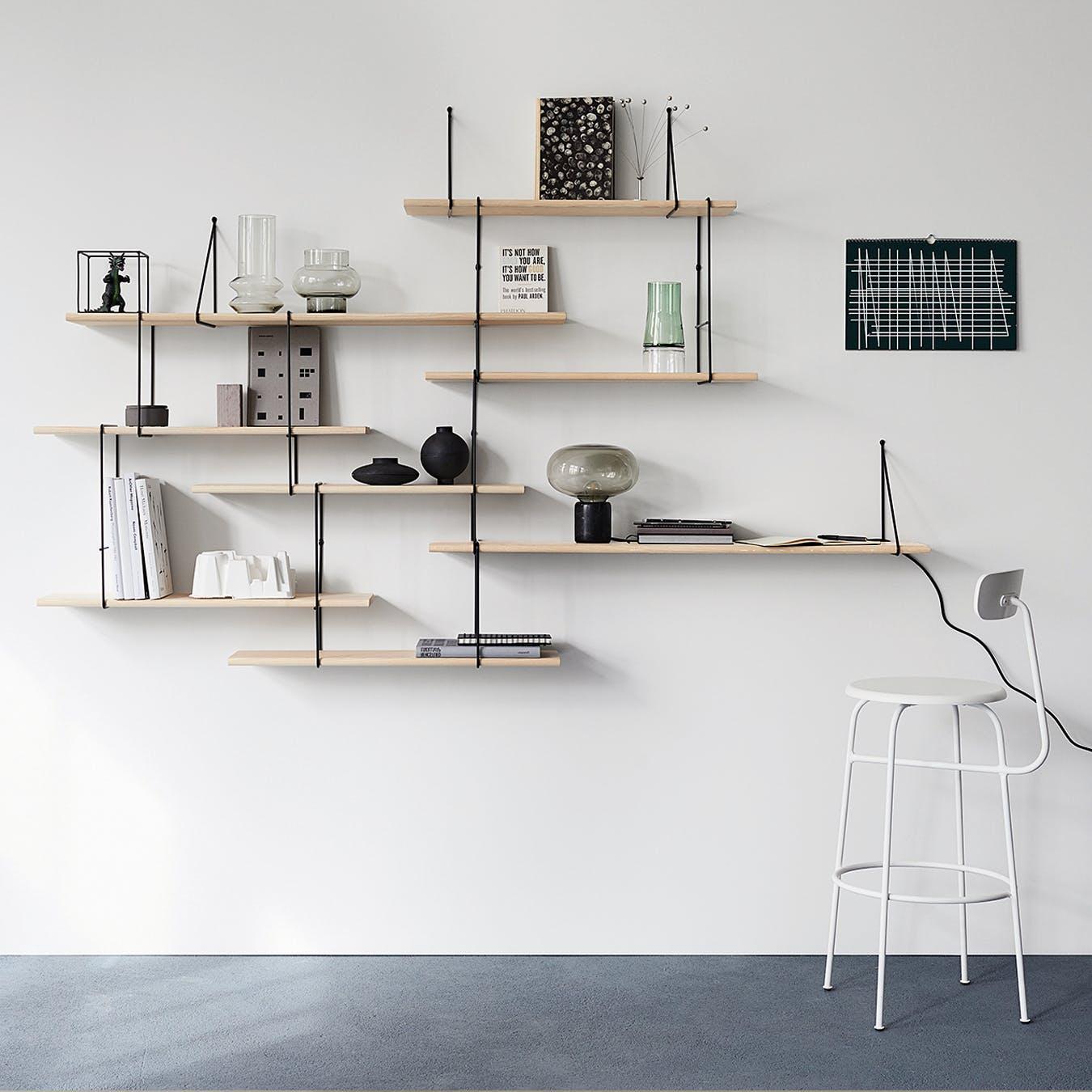 LINK Shelf, Setup 2, in Ash/Black
