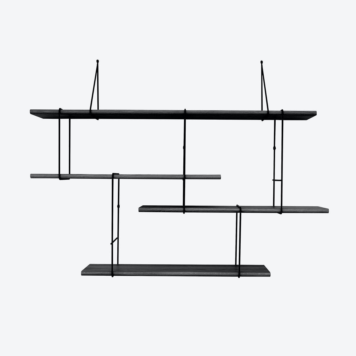 Link Shelf - Setup1 -True Black