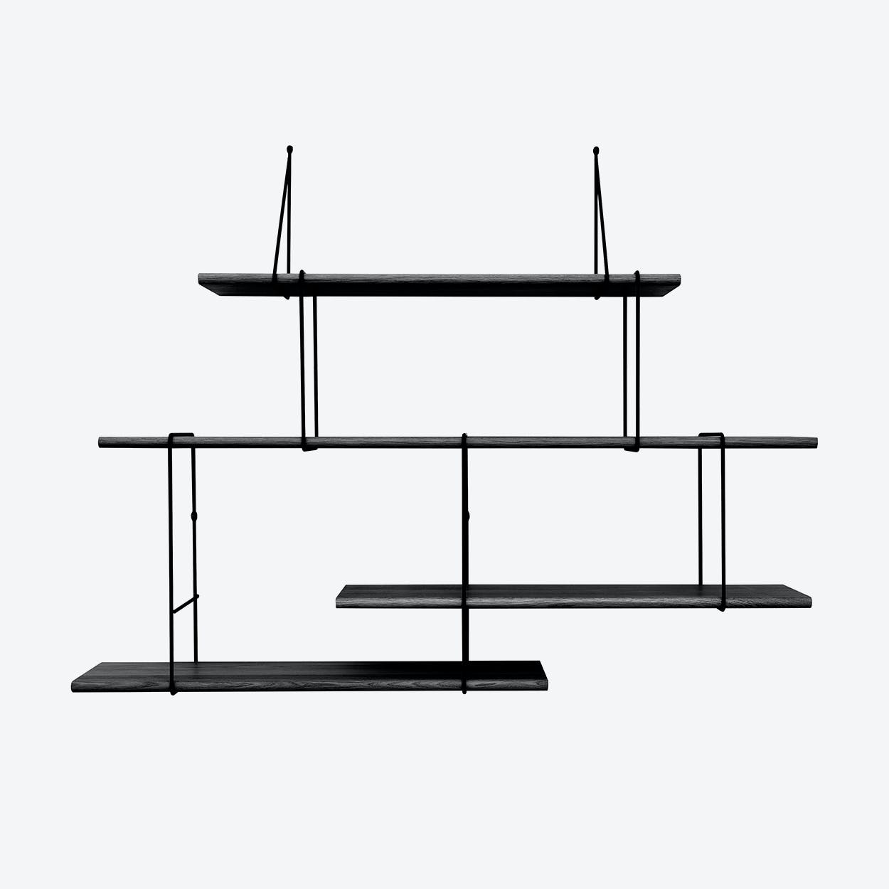 Link Shelf - Setup2 - True Black