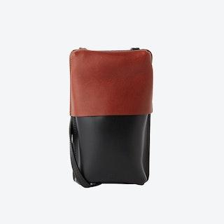 Black/Brown EMIL Neck Bag