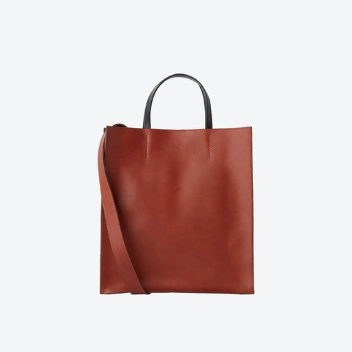 Brown FINCH Container Bag