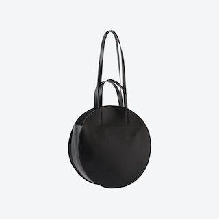 Black MYRA Round Bag