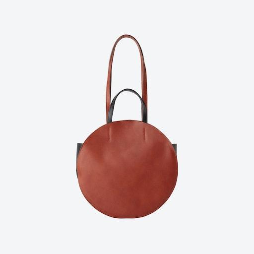 Brown MYRA Round Bag