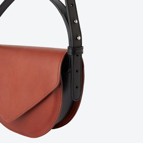 9466e21ea64 Brown MAVI Saddle Bag by Zamt Projects - Fy
