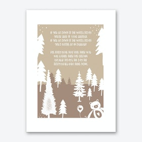 Teddy Bears Picnic Art Print