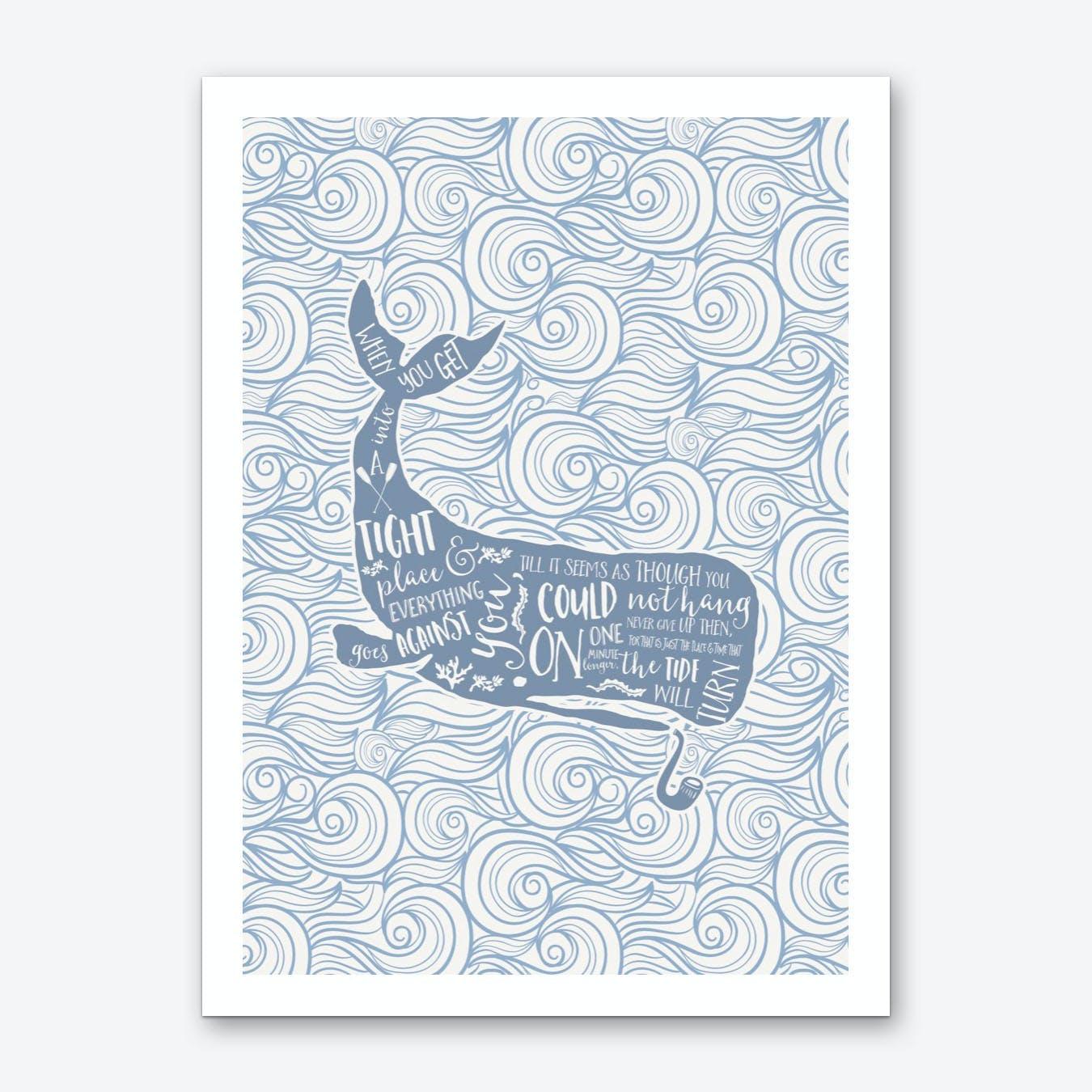 The Tide Will Turn Art Print
