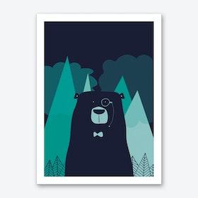 Nordic Bear Art Print