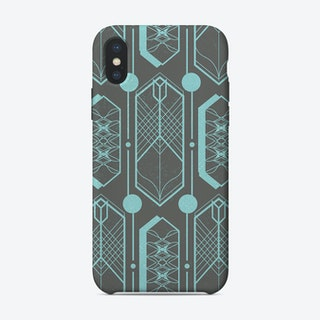 Visions of a Time Warp iPhone Case