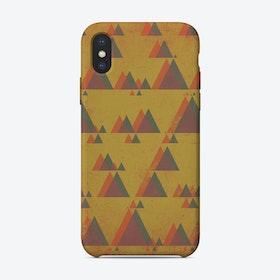 Mountainous Perspective iPhone Case