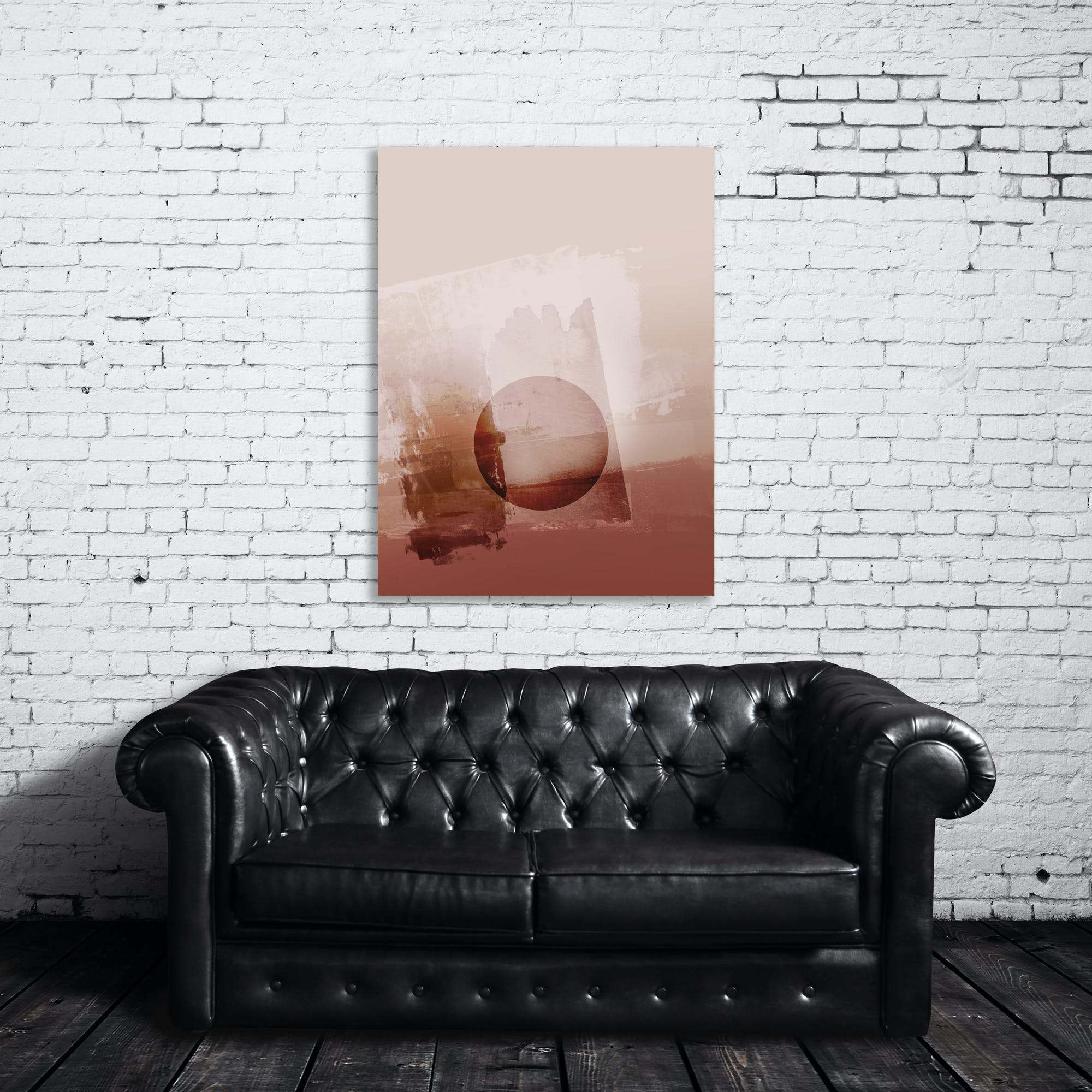 Translucent Circle 1 Art Print