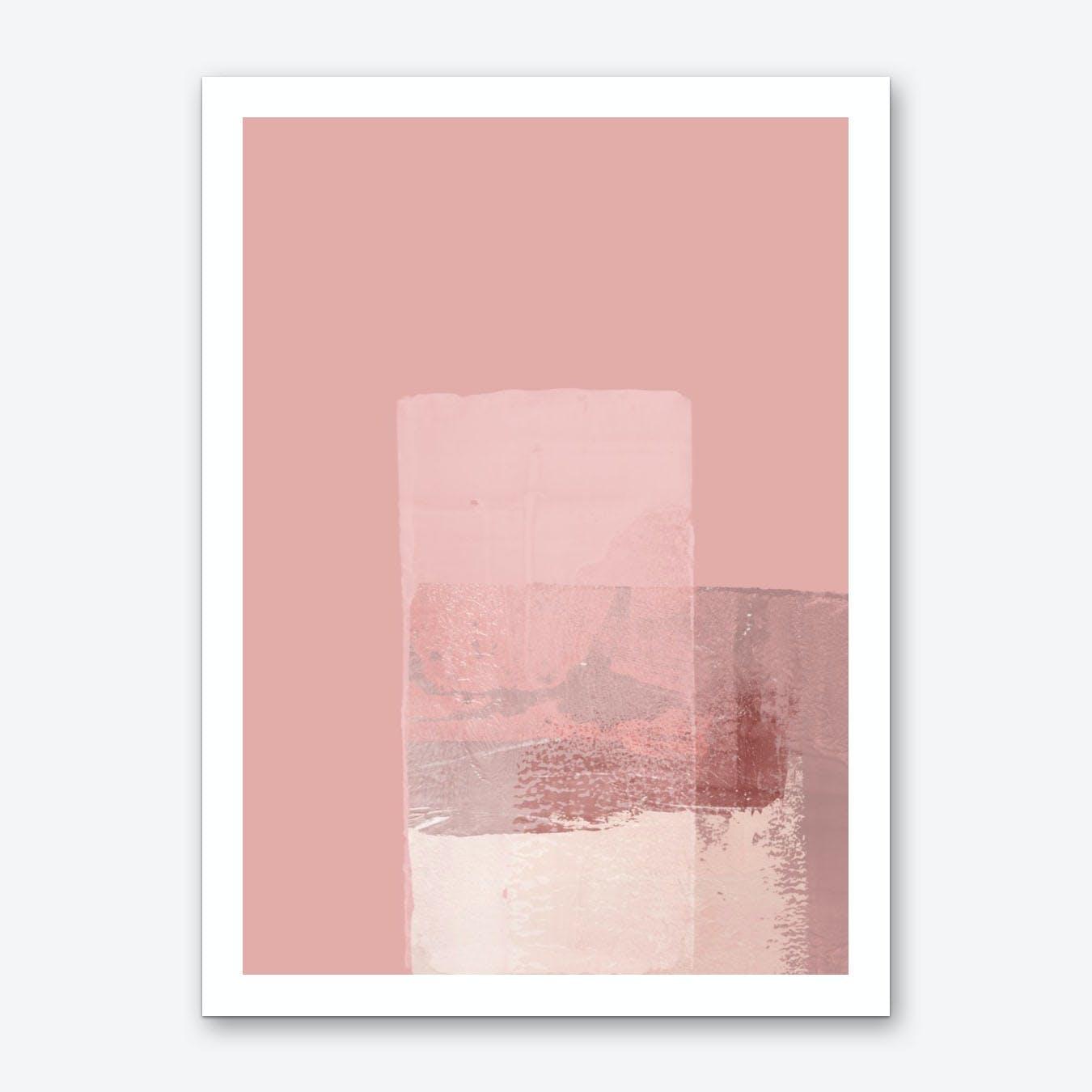 Abstract Pink1 Art Print