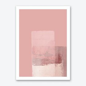 Abstract Pink1 Art Print