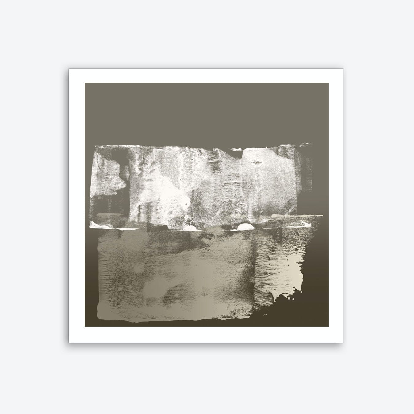 Textured Strokes In Neutrals 1 Art Print