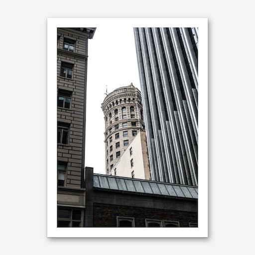 Hobart Building Art Print