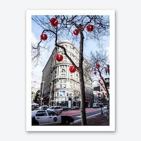 Red Lanterns Art Print