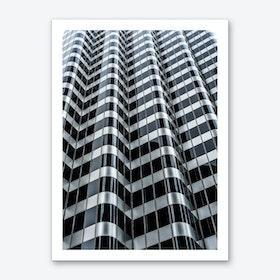 Steel Waves Art Print