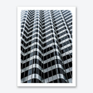 Steel Waves Art Print