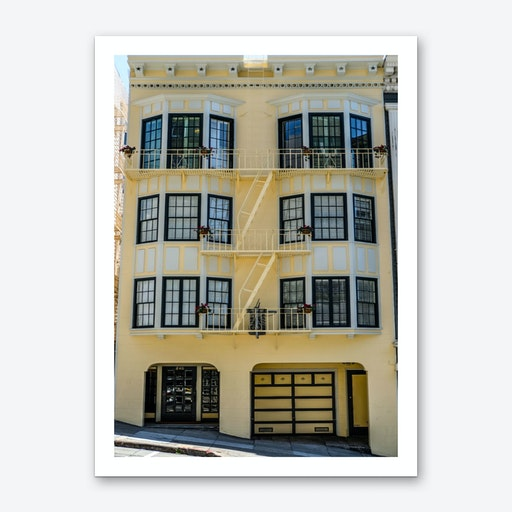 Yellow Home Art Print