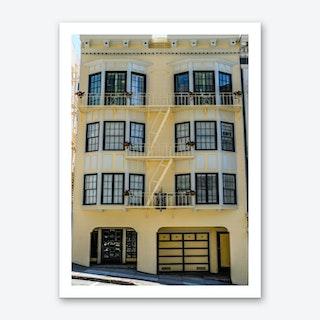 Yellow Home Art Print