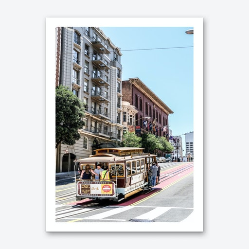 Cable Car Art Print
