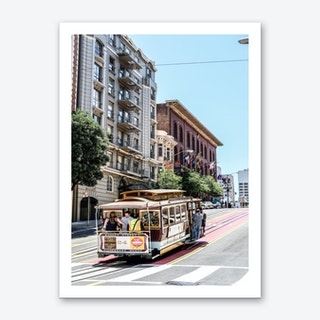 Cable Car Art Print