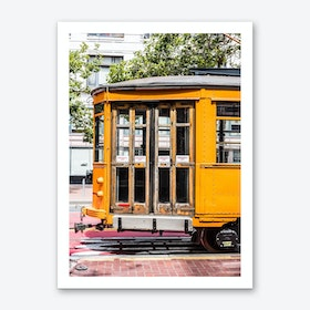 Yellow Trolley Art Print