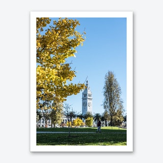 Fall In San Francisco Art Print