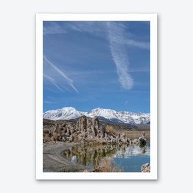 Mono Lake Reflection Art Print