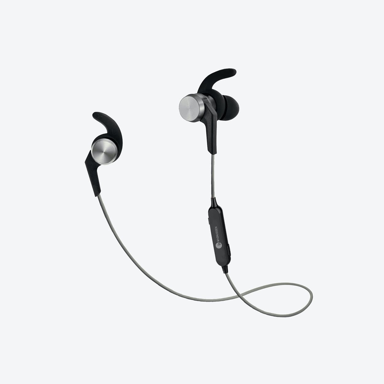 MAGNUSSEN M3 Bluetooth Wireless Earphones in Black & Silver