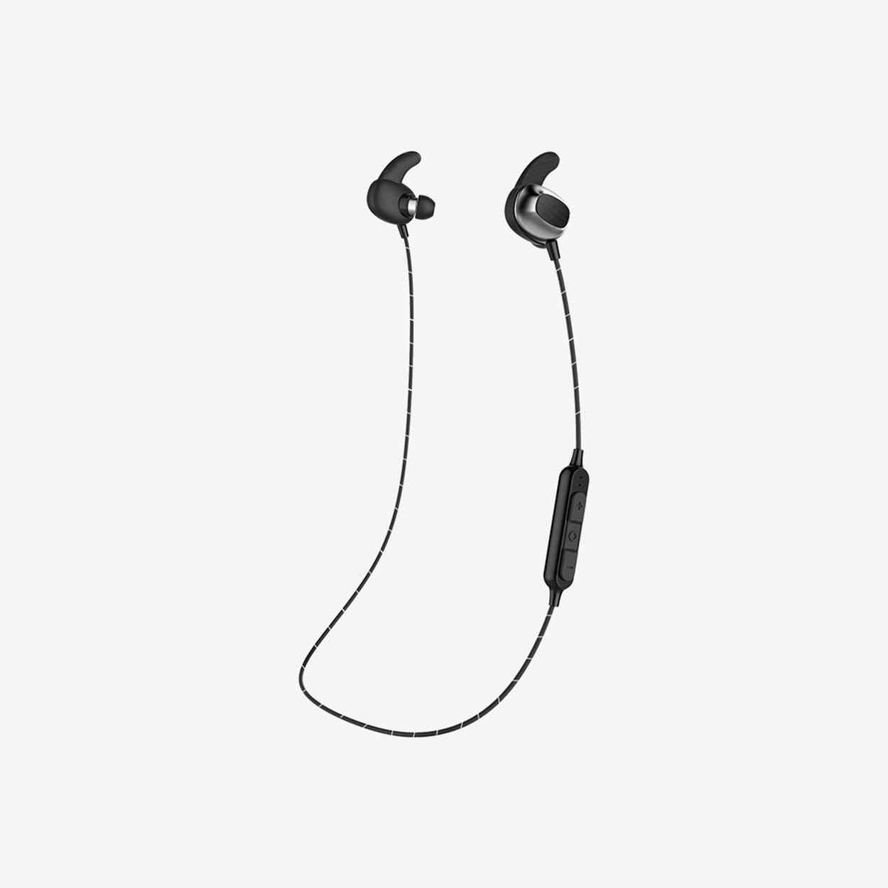 MAGNUSSEN M4 Bluetooth Wireless Earphones in Black & Silver