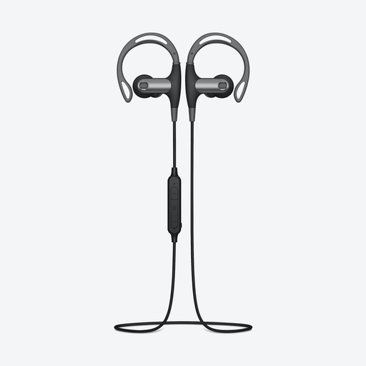 Rose Gold Earbuds with Mic and Remote by Happy Plugs